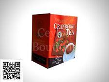 Mlesna Cranberry Tea - Ceylon Tea in Luxury Tea Bags