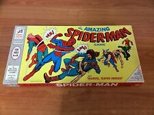 Vintage 1967 Board Game - The Amazing Spiderman  - 100% Complete