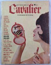 Nov 1964 Cavalier Men's Magazine Nude Pinup Erskine Caldwell Darrell Royal +