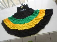 Girls Dress Jamaican Color 100% Cotton ages 4 -5 Sleeveless Beach Angels
