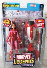 2005 Toy Biz Marvel Legends Scarlet Witch Legendary Rider Series