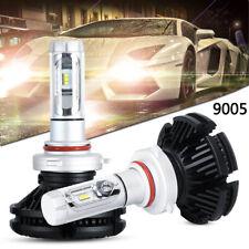 2X 9005 HB3 LED Car Headlight Turbo 100W 12000LM Bulbs Conversion 6000K X3 White