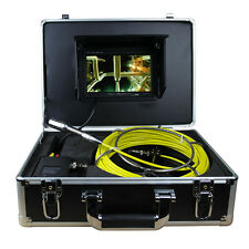 "20M Sewer Waterproof Video Camera 7"" LCD Screen Drain Pipeline Inspection Camera"