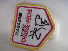 Chasse  -  Peche   Magazine Sentier     cloth patch  (5a17  1 )