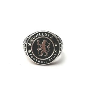 Chelsea Football club Sterling Silver Ring
