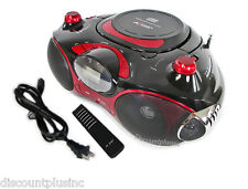 Portable Cd/Mp3/Usb/Sd/Fm/Am/Aux Boombox Radio With Remote