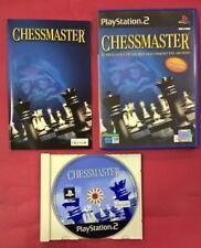 Chessmaster - PLAYSTATION 2 - PS2 - USADO - MUY BUEN ESTADO