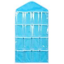 16Pockets Home Hanging Bag Socks Bra Underwear Rack Hanger Storage Organizer