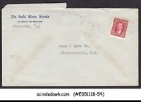 CANADA - 1941 ENVELOPE TO NEW YORK USA WITH KGVI STAMP