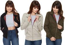 Zip Cotton Regular Size Coats & Jackets for Women