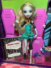 Muñeca Monster High-Lagoona Blue-School 's Out-Buen Estado Por favor Leer