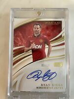 Immaculate INK 2020 Ryan Giggs /10 ! Manchester United - Flawless Card