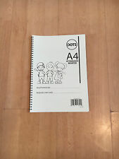 A4 Wirebound Nursery Childminder Childminding playgroup Attendance Register