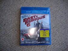 Fast and Furious 6 Blu Ray New/Sealed Trusted Seller...