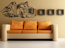 Auto Truck Driver Car Motor Vehicle Mural Wall Art Decor Vinyl Sticker z549