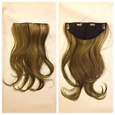 """20"""" Heat Resistant Clip In Extension,Full Head Blonde With Streaks 12/26"""