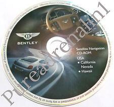 04 05 2006 BENTLEY CONTINENTAL GT COUPE SEDAN NAVIGATION CD ROM CALIFORNIA NV HI