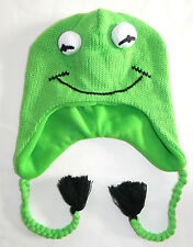 MENS DIVIDED BY H&M MUPPETS KERMIT THE FROG BEANIE HAT ONE SIZE