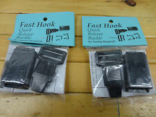 FAST HOOK HELMET SPEED CLIP QUICK RELEASE 2-PACK FREE SHIPPING