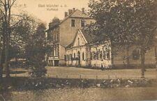 AK, Foto, Bad Münden - Blick a.d. Kurhaus vom Wasser, 1912; 5026-101