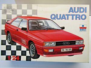 ESCI Vintage 1:24 Scale Audi Quattro Model Kit - Item No 3024