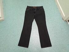 "Cherokee Bootcut Size 14 Leg 31"" Black Faded Ladies Jeans"