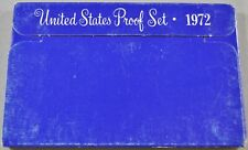 1972-S Proof Set United States US Mint, COA - 5 Coin Set - Free Shipping