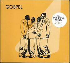 COFFRET DIGIPACK 3 CD LES PLUS GRANDS SUCCÈS DU GOSPEL ARMSTRONG, FRANKLIN..
