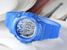 OHSEN Sport Digital AL School Watch For Child Boy Girl Wrist Watches Blue
