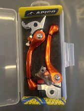 KTM   SX250  SX 250   2006- 2013    FLEXI FLEXIBLE LEVER LEVERS SET  ORANGE