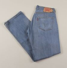 Vintage LEVI'S 501 Blue Regular Straight Fit Men's Jeans 32W 32L 32/32 /J44032