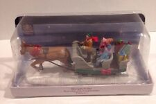 NEW Sleigh Ride by LEMAX (2011). Model: 13912. Carole Towne Collection