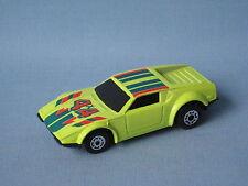 Matchbox super gt detomaso pantera corps jaune chinois ub jouet voiture modèle