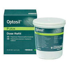 OPTOSIL P PLUS HERAEUS 900ml. DENTAL SILICONE SILICONA.