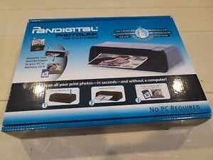 Pandigital Photolink One Touch picture Scanner Pass Through Handheld BRAND NEW!!