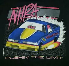 Nhra Winston,T-Shirt, For Men, 1990,S Vintage ,Medium