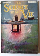 Science et vie n°76 du 10/1923; pêche à la lumière/ Menuiserie mécanique