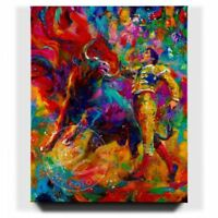 Bullfighter 32 x 40 S/N LE Gallery Wrapped Canvas by Blend Cota