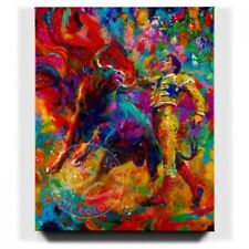 Bullfighter 48 x 60 S/N LE Gallery Wrapped Canvas by Blend Cota