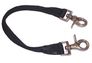 Nylon Monkey Grip Strap Security Beginners Children Young Horses With Clips