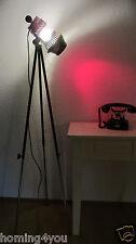 GRANDIOSA 8122 Radebeul stativ Tripod Lampe Stehlampe  Farbfilter ROT