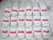 Personalised slippers ,Adult/kids wedding bride, hen party , bridesmaidnovoltey