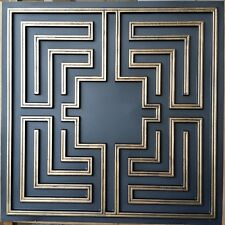Ceiling tiles faux tin age bronze decor background wall panels PL25 10tiles/lot