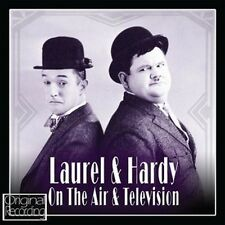 CD LAUREL & HARDY ON THE AIR & TELEVISION THIS IS YOUR LIFE LIFE & TIMES ETC