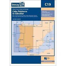Imray grafico C19: Cabo FINISTERRE a Gibilterra da Imray (libro in brossura, 2015)