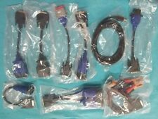 9 pcs Cables Full Set for NEXIQ 125032 USB Link