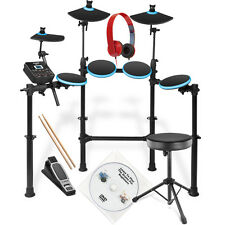 Alesis DM Lite Electronic Drum Kit with Stool, Sticks, S-LAB RED HPhones and DVD
