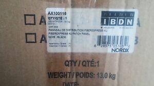 ANIXTER BELDEN IBDN AX100116 FIBEREXPRESS PATCH PANEL, 4U, RACK MT, 96 FIBER