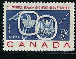 CANADA - SCOTT 387 - ST-LAWRENCE SEAWAY - 1959