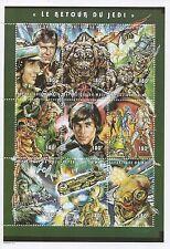 "STAR WARS RETURN OF THE JEDI 5"" x 7"" REPUBLIQUE DU MALI 1997 MNH STAMP SHEET"